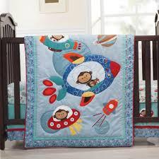 Crib Bedding Monkey Astro Monkey 4 Baby Crib Bedding Set Baby Bedding Center