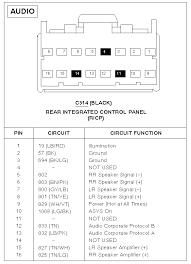 ford factory radio wiring ford f factory radio wiring diagram ford