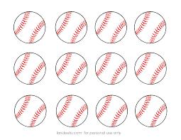 free printable baseball clip art images inch circle punch or