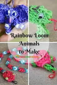 9 rainbow loom animals to make allfreekidscrafts com