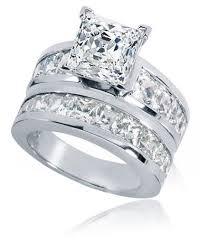 princess cut cubic zirconia wedding sets white gold cubic zirconia wedding rings mesmerizing cubic