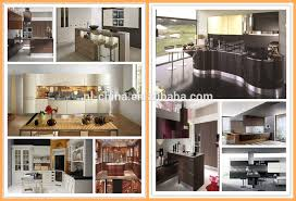 Flat Pack Kitchen Cabinets by Tempered Glass Finish High Gloss Kitchen Cabinets Flat Pack