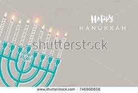 hanukkah candles colors hanukkah festival lights festive background stock vector