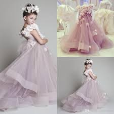 blush gown sleeves flower dresses crystals