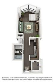 Three Bedroom Apartments In Chicago North Harbor Tower Floor Plans Studio One Bedroom Two Bedroom
