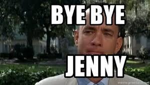 Forrest Gump Memes - bye bye jenny content forrest gump meme generator
