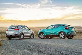 toyota compact compact crossovers practical hyundai creta vs stylish toyota c hr
