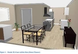 faire une cuisine en 3d faire sa maison en 3d la conception et l am nagement de 3d devient