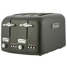 Deloghi Toaster De U0027longhi Argento 4 Slice Toaster Black Sainsbury U0027s