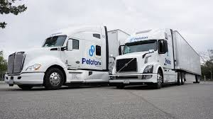 volvo commercial vehicles peloton technology secures 60m to fuel commercial truck industry
