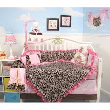 fair purple zebra bedroom design and decoration using light