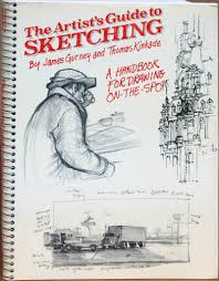 interview with james gurney sketches artist and watercolour pens