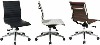 leather desk chair no arms top office chair no arms and eames office chair no arms back armless