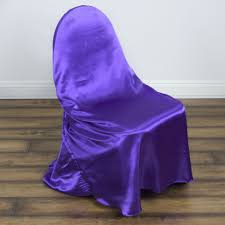 purple chair covers 75 satin universal self tie for any of chair cover wedding
