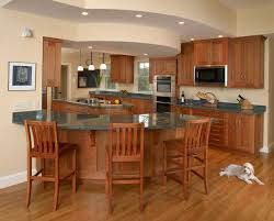 curved kitchen island best curved kitchen islands with seating dovetail pic of points to