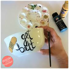 get better care package diy chicken soup bowl for a get well soon gift basket