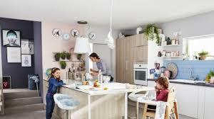 cuisine familiale cuisine familiale comment bien l aménager sur orange tendances deco