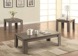 furniture rustic wooden coffee table set design with wooden