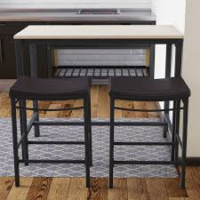 trent design pub tables bistro trent design bezons 3 pub table set reviews wayfair