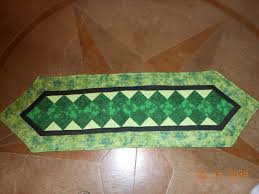 st patrick s day table runner luce stitches