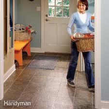 vinyl flooring removal made easy family handyman
