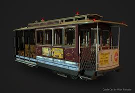 San Francisco Cable Car Map by