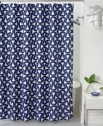 navy shower curtain fabric decorative ideas with navy shower