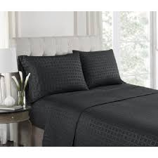 Buy Cheap Double Bed Sheets Online India Bed Sheets U0026 Pillowcases Bedding The Home Depot