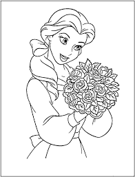 princess coloring pages printable inside disney princess printable