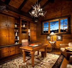 rustic home office beauty home design