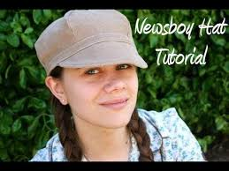 free pattern newsboy cap newsboy hat how to with free pattern whitney sews youtube