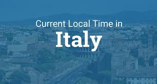 Time Zone Maps Usa by Current Local Time In Italy