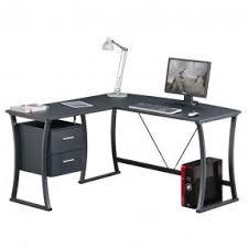 Black Corner Desk With Drawers Corner Computer Desk With Drawers Foter