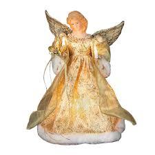 angel christmas tree topper adler 12 in led angel christmas tree topper