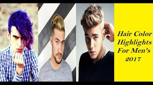 Best Hair Color For Men 19 Best Hair Color Highlights And Ideas For Men In 2017 How