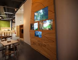 A Study With Walls In by World Nature Forum Case Study Unesco Visual System Solutions