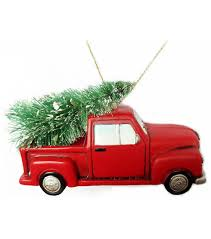 maker s truck with tree ornament joann