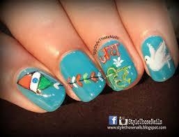 style those nails india u0027s independence day nailart happy