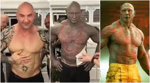 of the guardians of the galaxy vol 2 actor dave bautista s