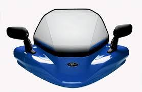 yamaha grizzly 660 2004 steel blue hr 03 model atv windshield