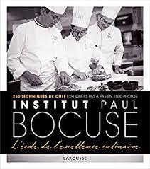 cours cuisine bocuse institut bocuse l école de l excellence culinaire beaux livres