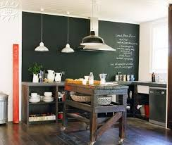 kitchen paint idea chalkboard paint ideas inspirations for the kitchen walls