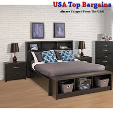 Bookcase Headboard Queen Bed Luxury Full Size Bed Frame With Bookcase Headboard 68 With