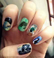 Nail Art Meme - animals on dem talons animal meme nails just for fun get it
