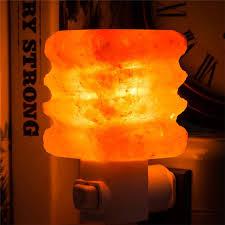 crystal plug in night light mini multi layer tower shaped salt l small natural crystal salt