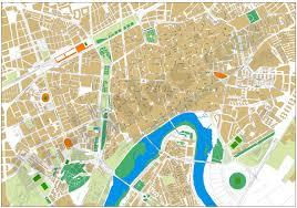 Vigo Spain Map by Cordoba Center City Map