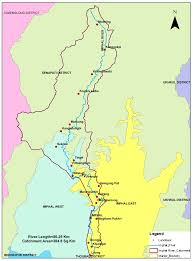 India River Map by Major Activity Envis Centre Ministry Of Environment Forest