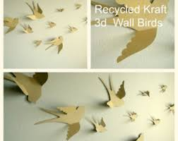 Nursery Bird Decor 3d Bird Wall Etsy