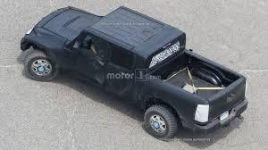 jeep wrangler pickup jeep wrangler pickup spied from a bird u0027s eye view