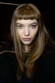 faux micro fringes at custo barcelona autumn winter 2014 hair
